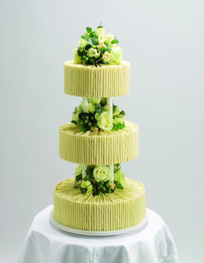 Purita Hyam Chocolate Wedding Cakes