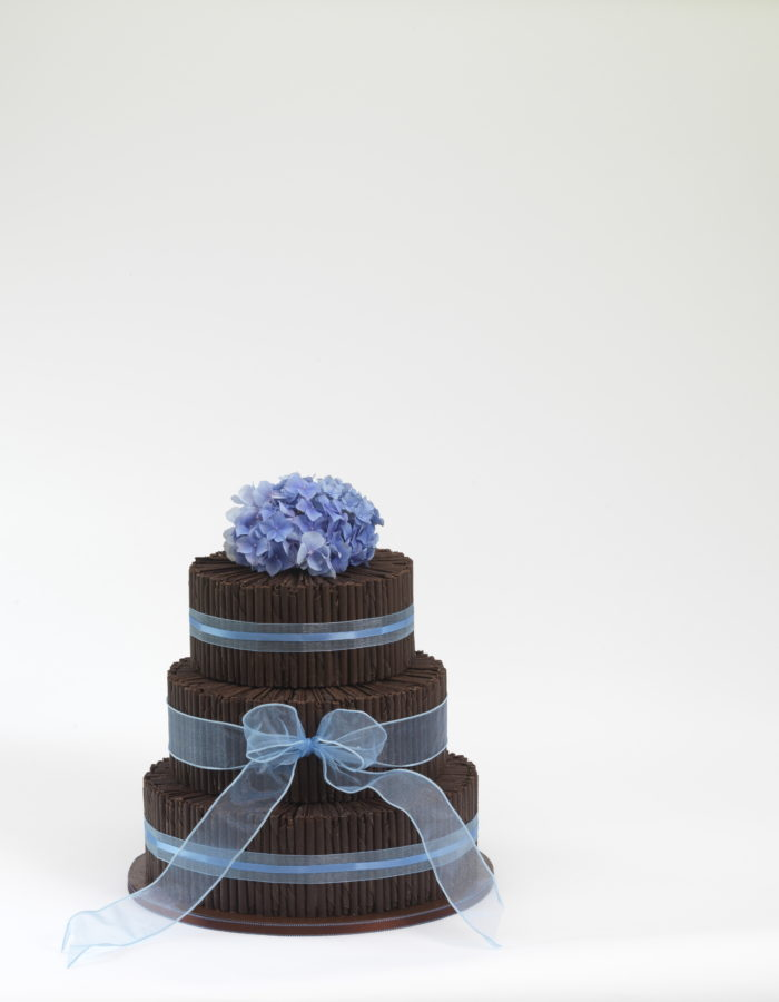 Purita Hyam Chocolate Wedding Cakes